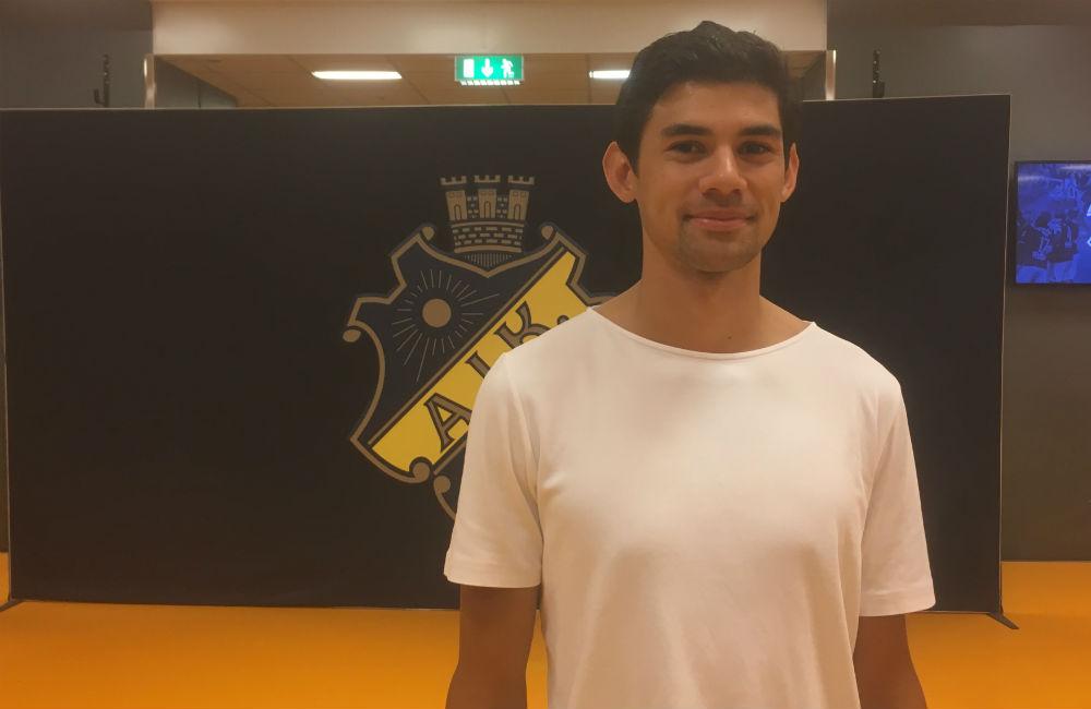 """Nyholm på läktaren när AIK vann: """"Fick gåshud"""""""
