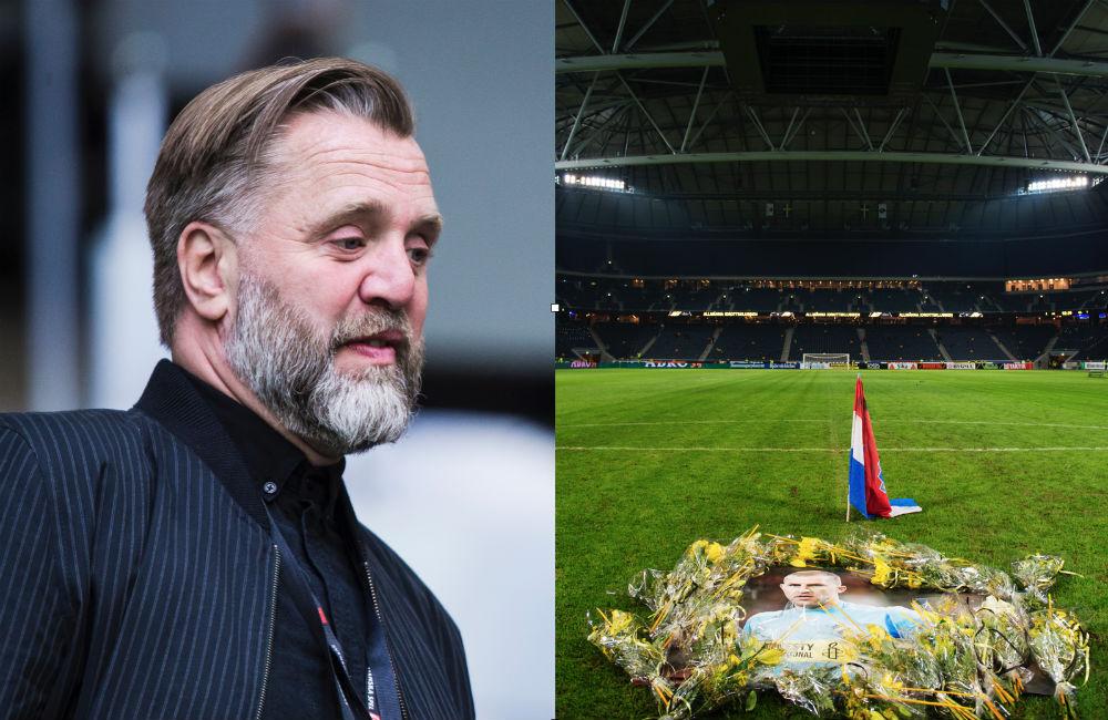 """Björn Wesström: """"Vi hittade ingen kista i Ivan Turinas storlek"""""""