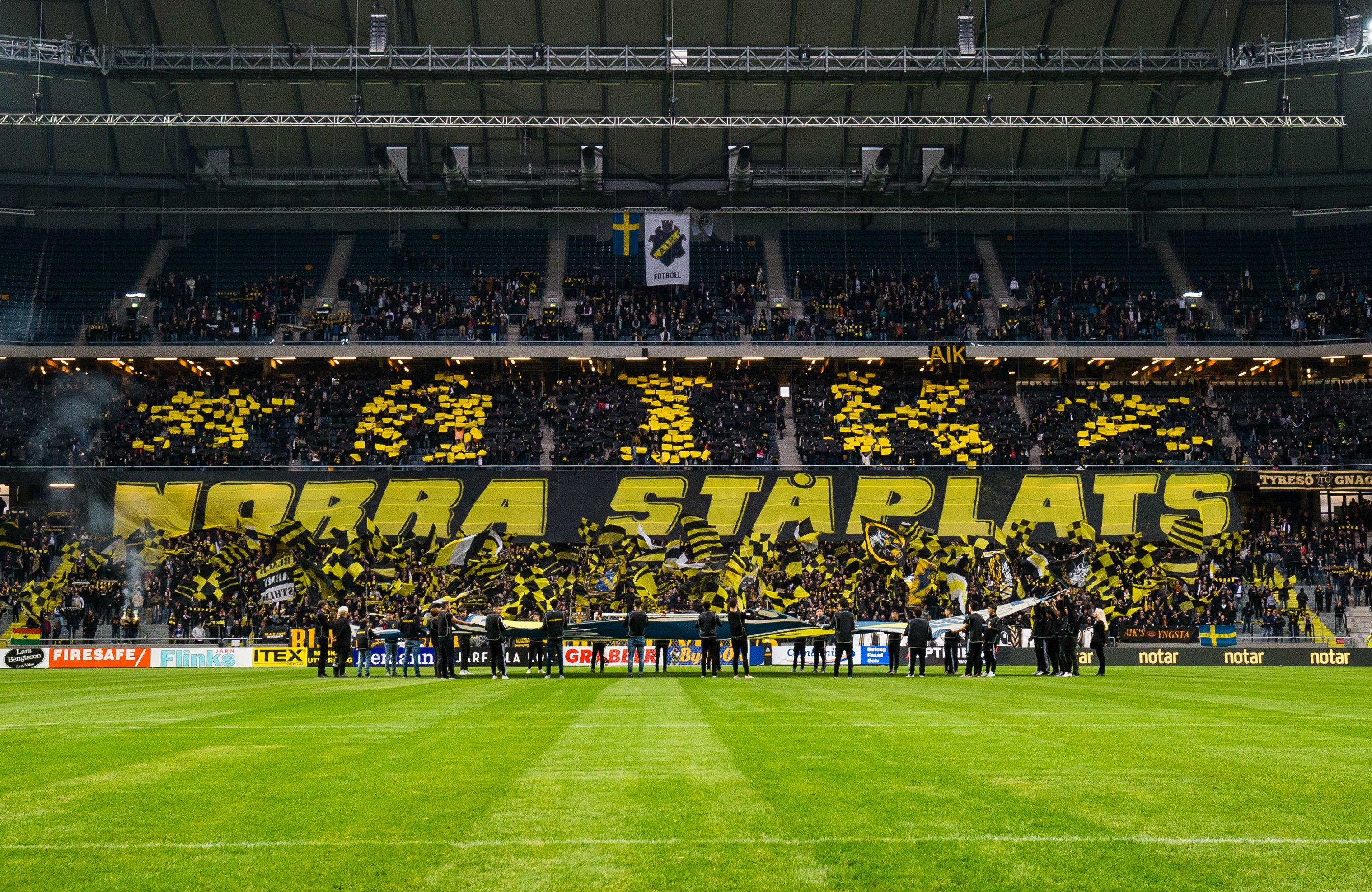 """AIK:s supportergrupper: """"Vi kommer att ta vårt ansvar"""""""