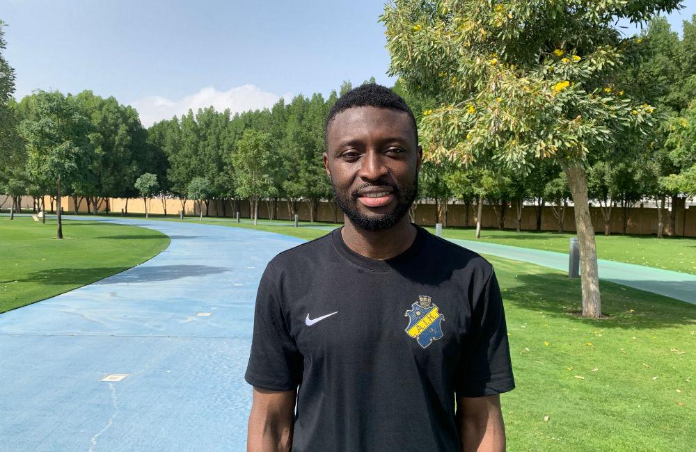 """Obasi tillbaka i AIK – för tredje gången: """"Jag är i mitt livs form"""""""