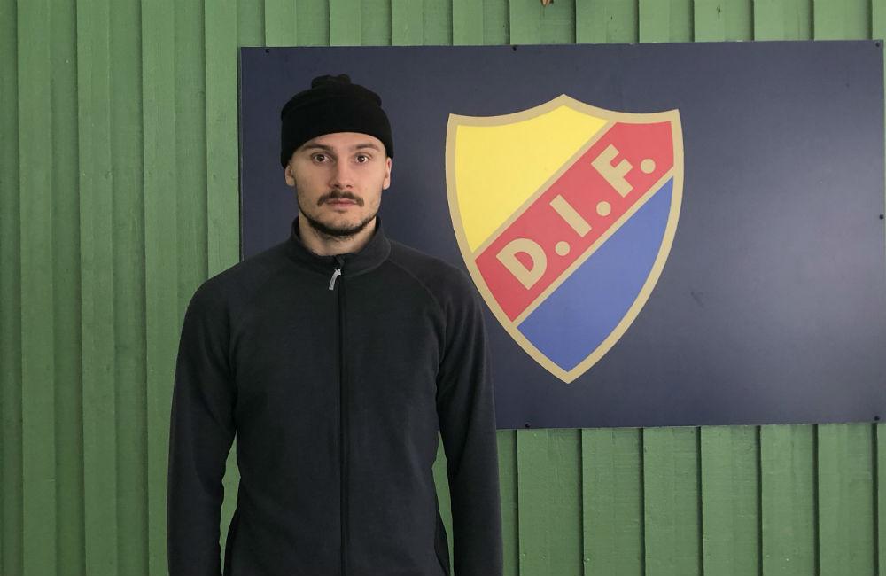 Han siktar mot landslagsformen – Fotboll Sthlm möter Erik Berg
