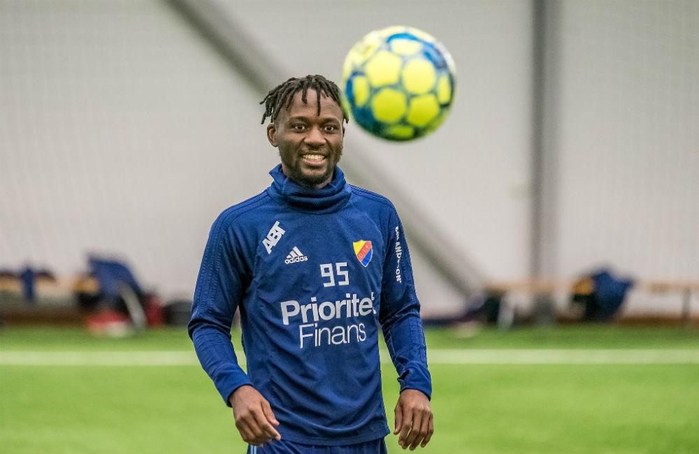 """Mohamed Buya Turay siktar högt: """"Jag ska göra minst 20 mål"""""""