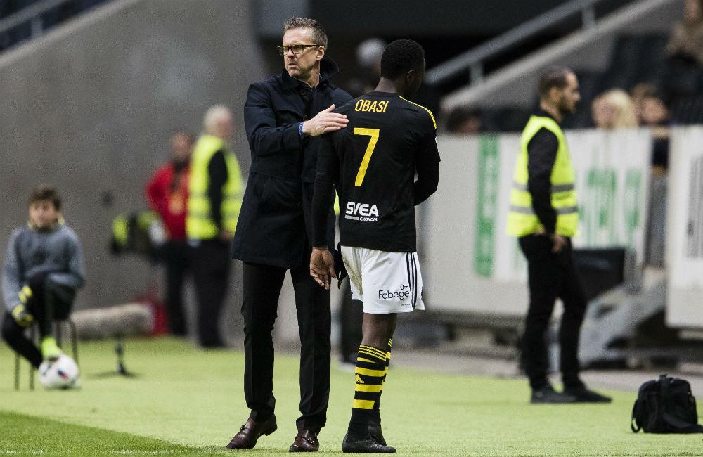 """Norling lovordar sitt nyförvärv: """"Obasis kynne passar i AIK"""""""