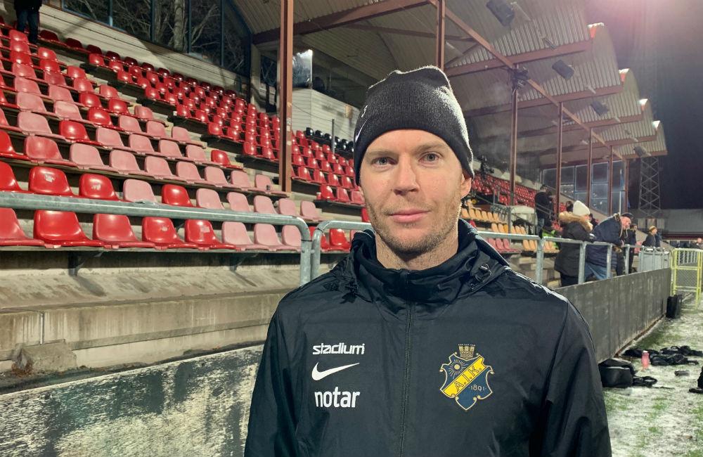 """Per Karlsson vill se ödmjukt AIK: """"Ingen ska gå utanför ramen"""""""