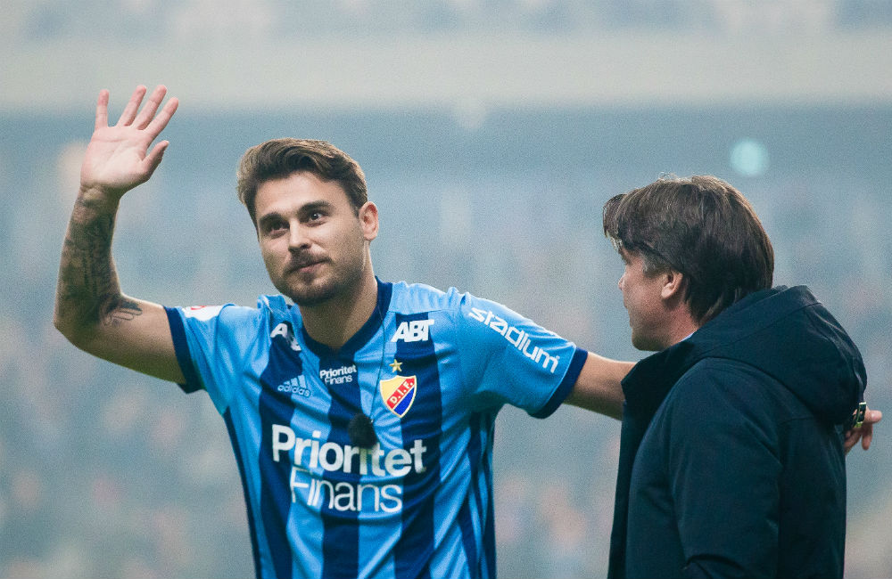 """Ajdarevic klar för DIF: """"Jag är en jävligt intressant spelare"""""""
