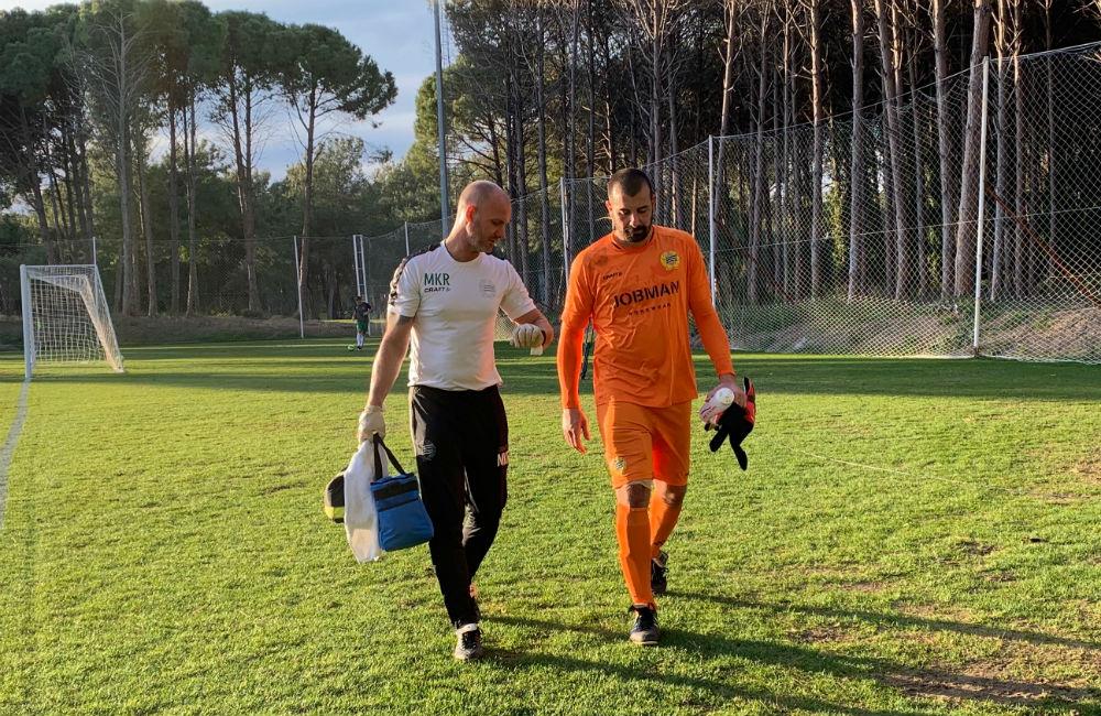 """Gianluca Curci om sin lårskada: """"Jag är inte orolig"""""""
