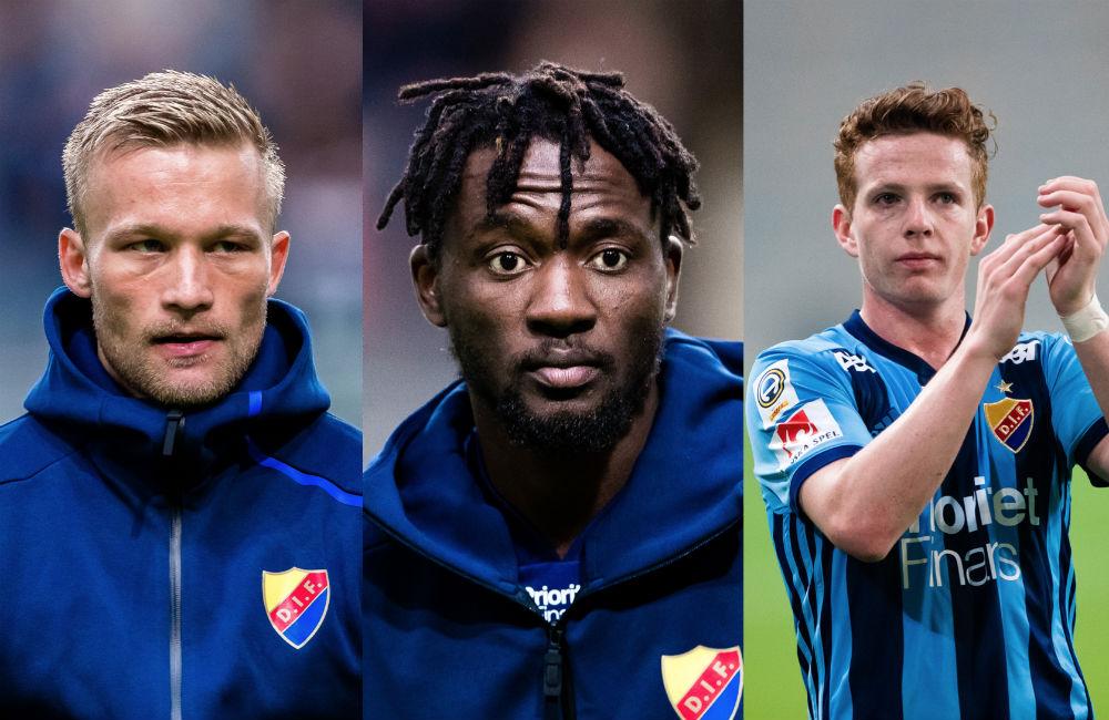 Skadesmäll för Djurgården – trio missar cupmatchen