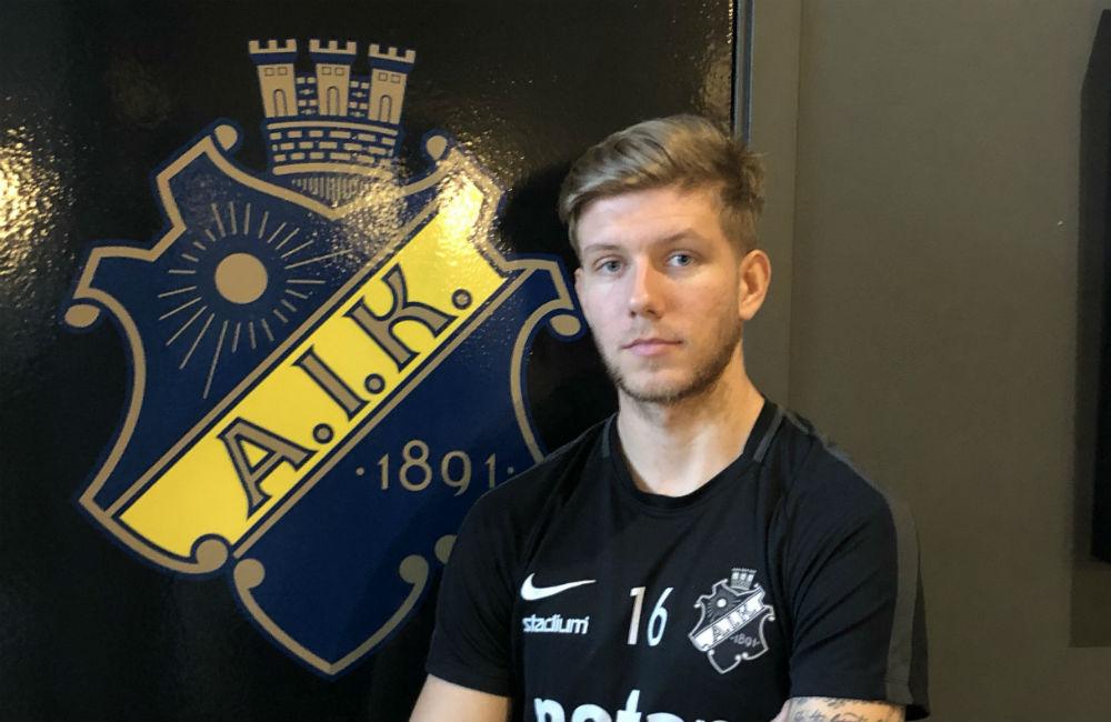 """Salétros om att ersätta Olsson: """"Att spela i AIK är alltid en press"""""""