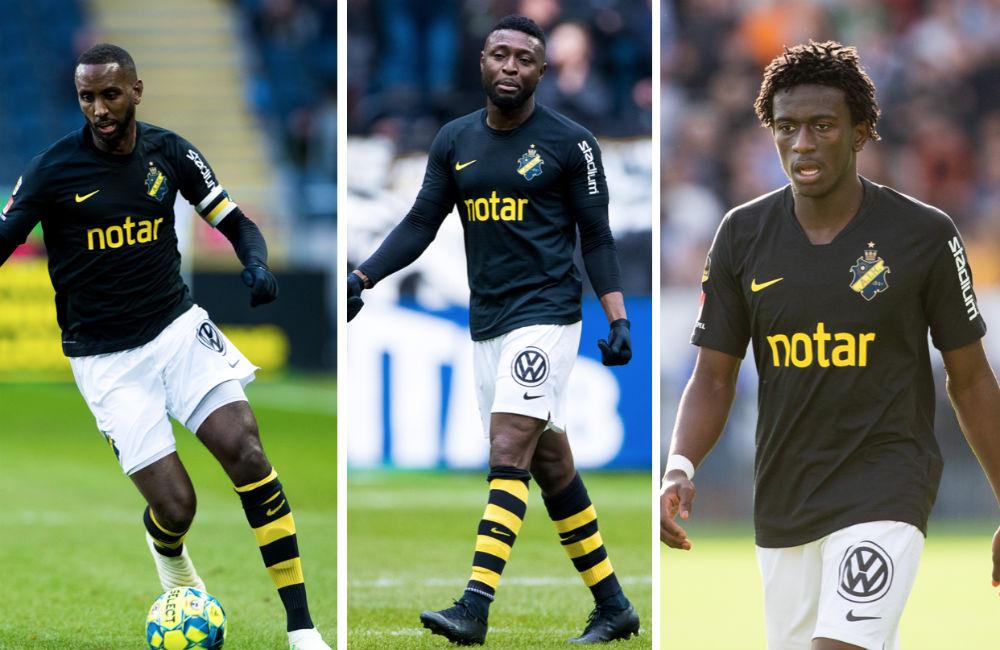 Bekräftat: AIK spelar 4-3-3 –Goitom, Obasi och Lahne från start