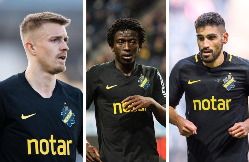 """Skadeläget ljusnar i AIK inför derbyt: """"Absolut inte avskrivna"""""""