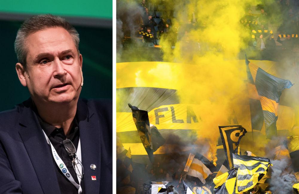 """Mats Enquist orolig: """"Vill inte ha krig mellan polis och supportrar"""""""