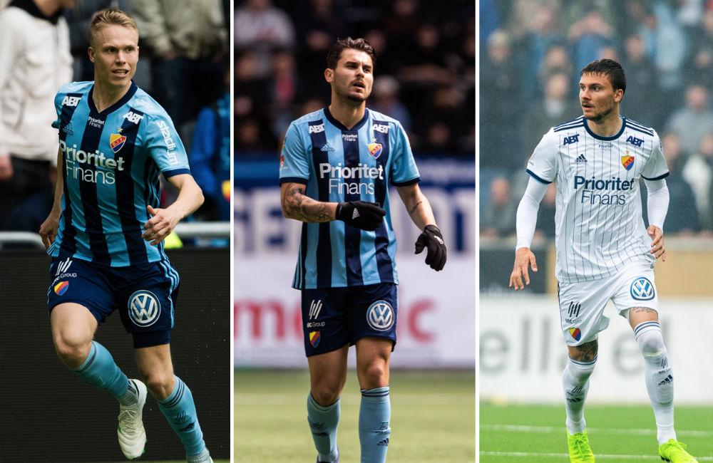 """Augustinsson, Ajdarevic och Berg vilas: """"Erik har ont i ett knä"""""""