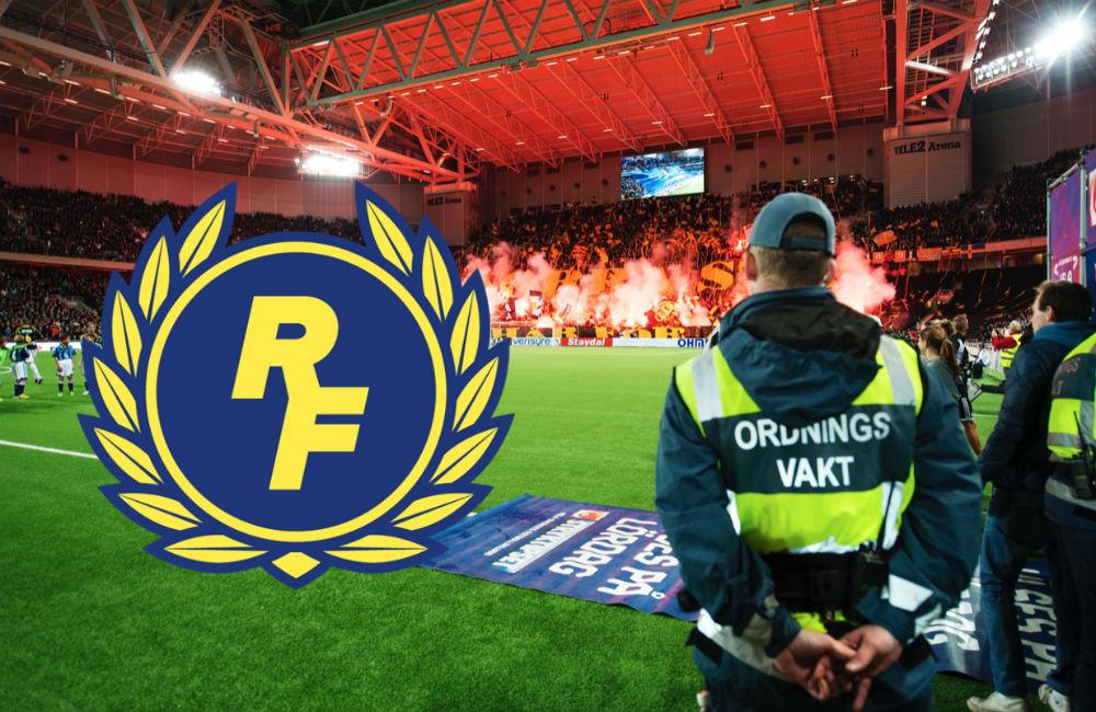 Fotboll Sthlm granskar: Fler täta band mellan RF och vaktbolagen