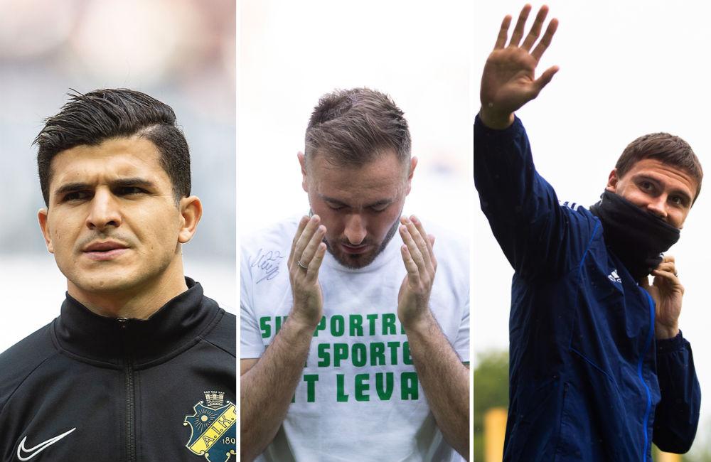 Vårens 08-lag i Allsvenskan – Fotboll Sthlm gör sina val