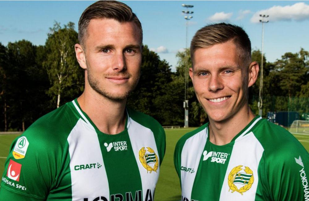 """Hammarby värvar dubbelt: """"Fantastiskt att komma hit"""""""