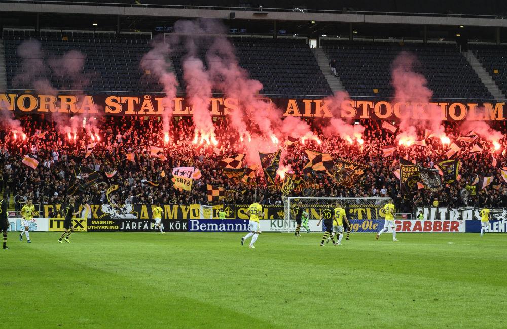 Efter polisens beslut – AIK stänger Norra stå på torsdag
