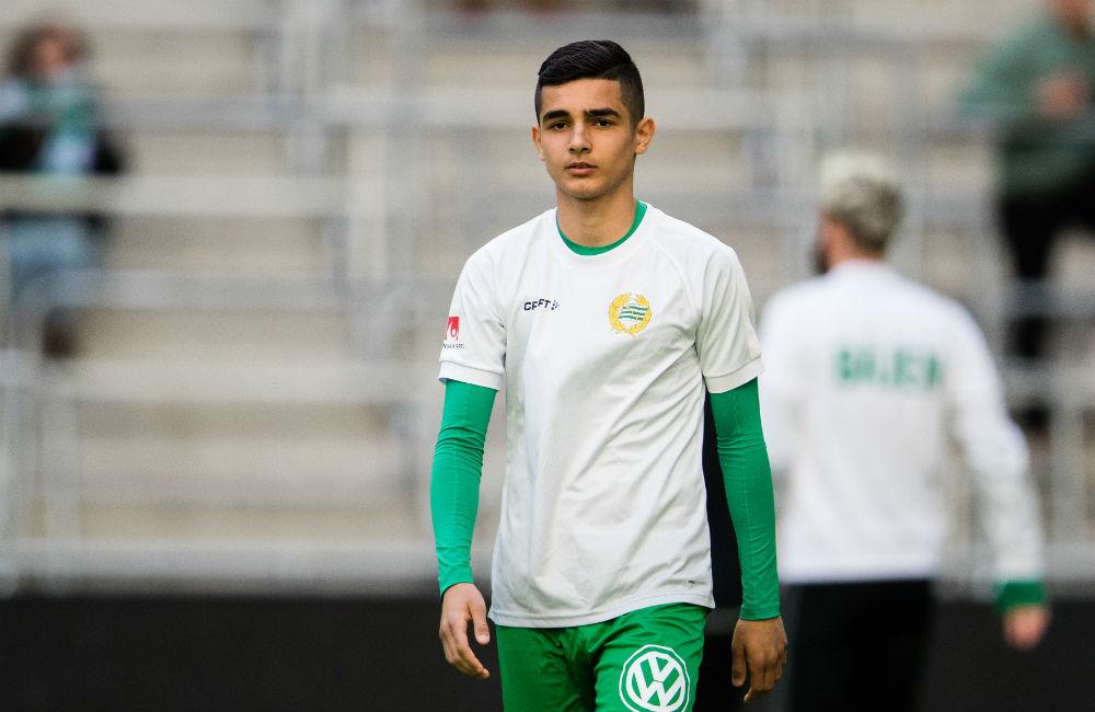 """16-åring med i Hammarbys trupp: """"Han är väldigt spelskicklig"""""""