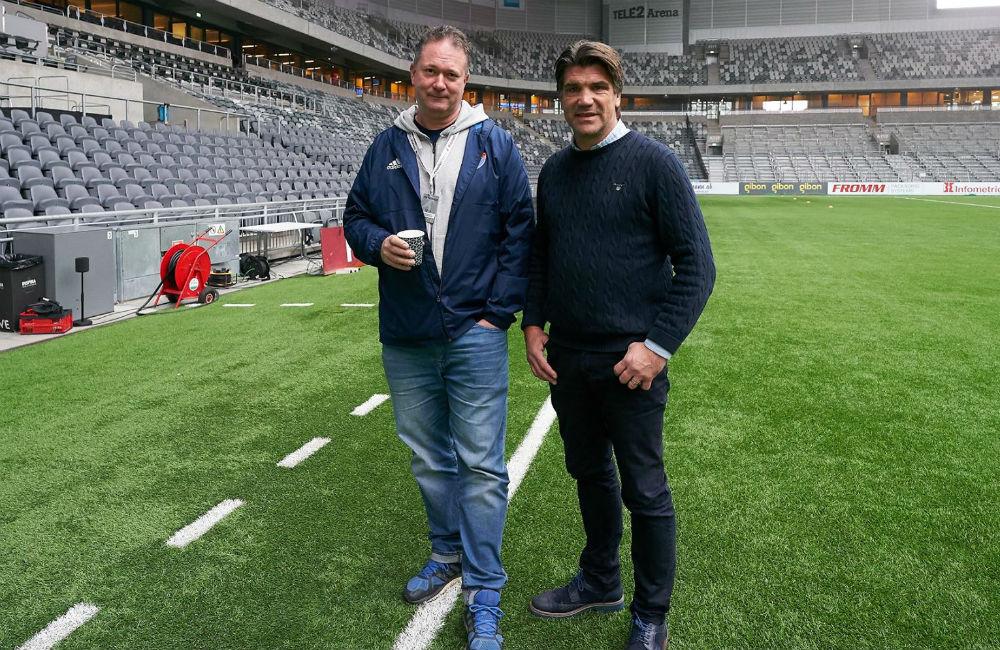 """""""Vi är inte färdiga här"""" – Fotboll Sthlm möter Bosse och Henke"""