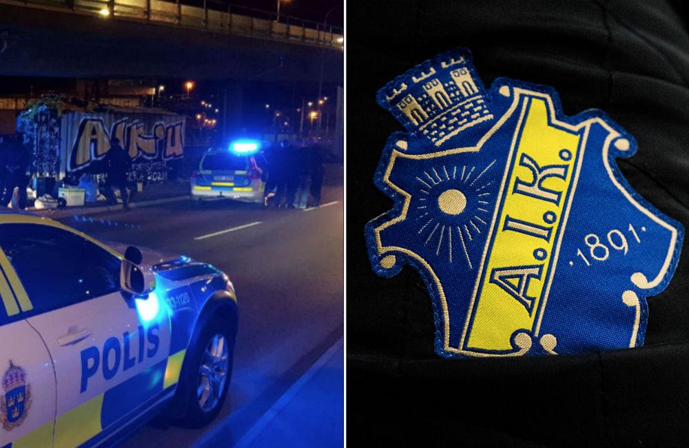 """AIK vill ha svar från polisen: """"Ber om ytterligare information"""""""