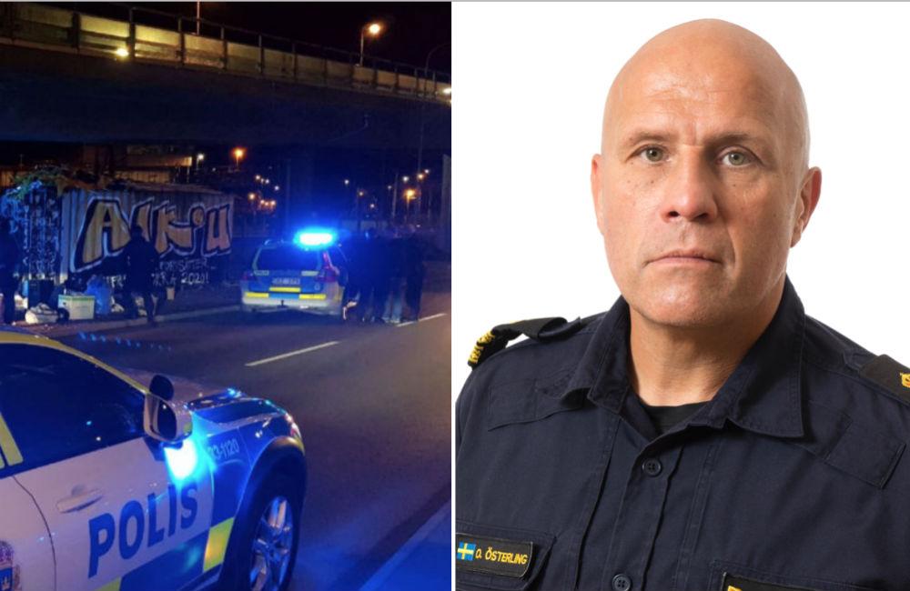 """Polisens version om AIK Tifo: """"Standardmässigt ingripande"""""""