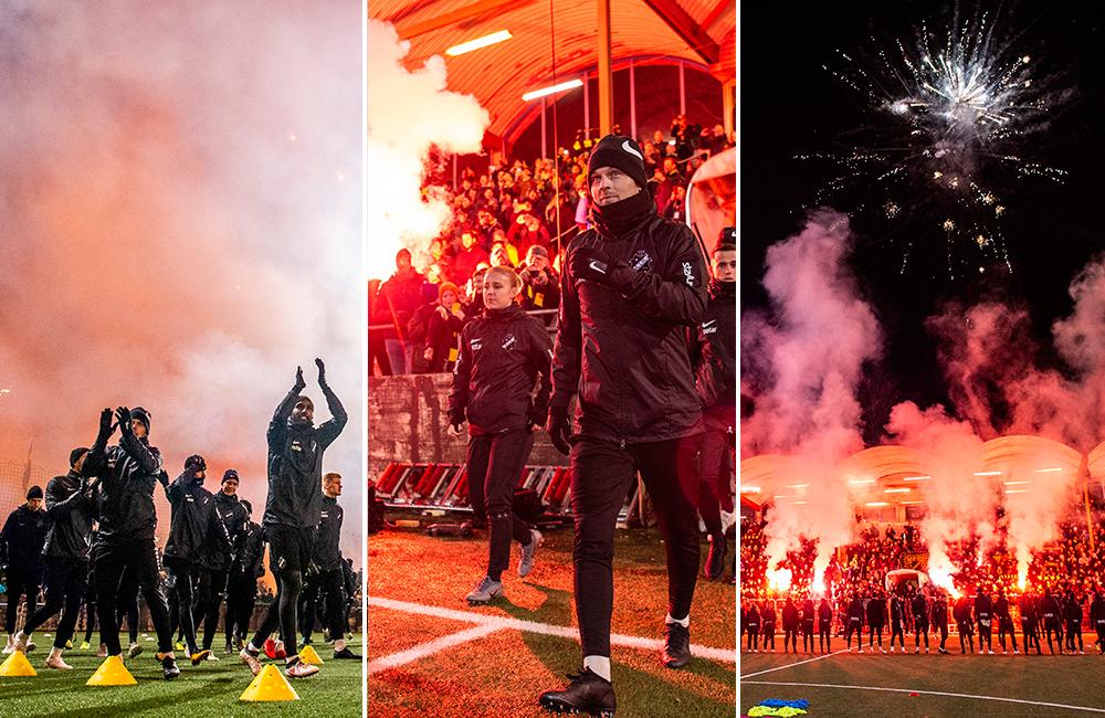BILDSPEL: AIK:s första träning – inför storpublik på Skytteholm