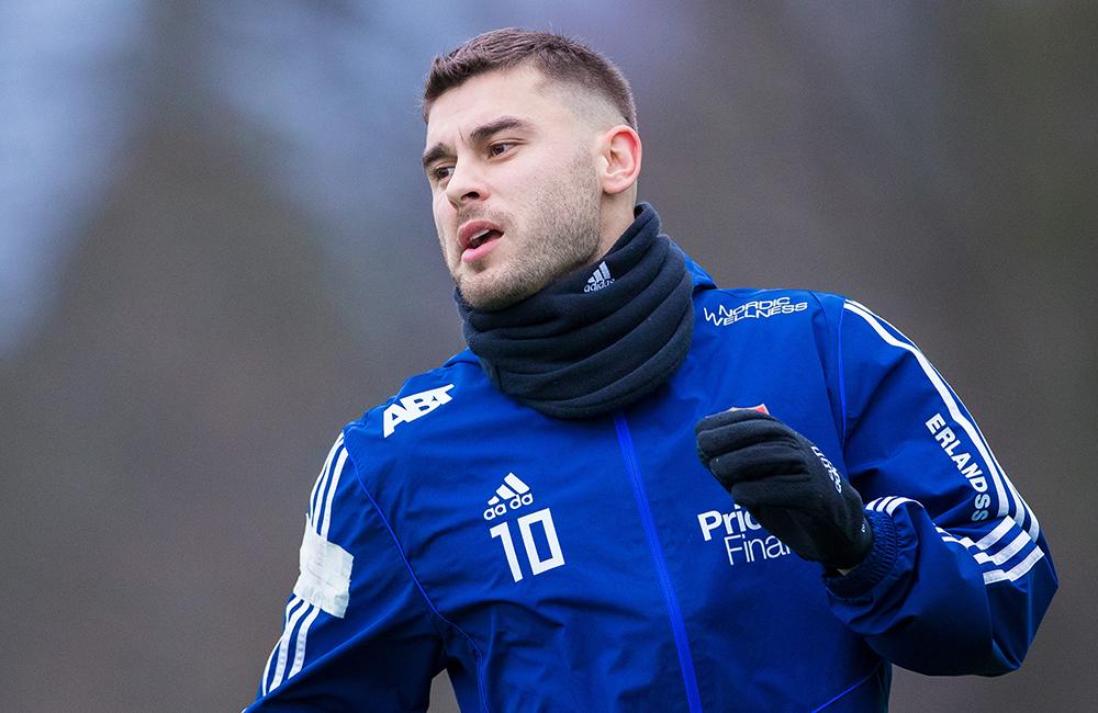 """Ajdarevic nöjd med fjolåret: """"Spelmässigt var det väldigt bra"""""""