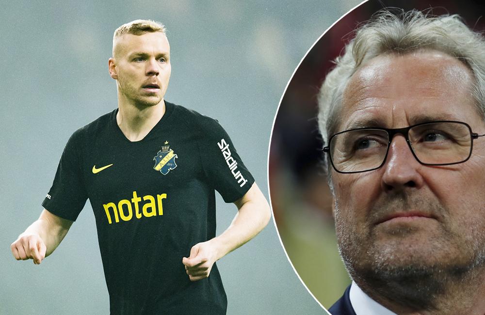 Missar AIK:s match i helgen – Sigthorsson bänkad av Hamrén i natt