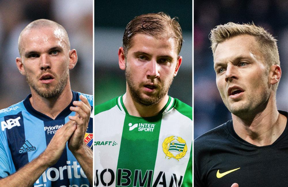 Sju spelare från Stockholm i årets lag – enligt spelarna i serien