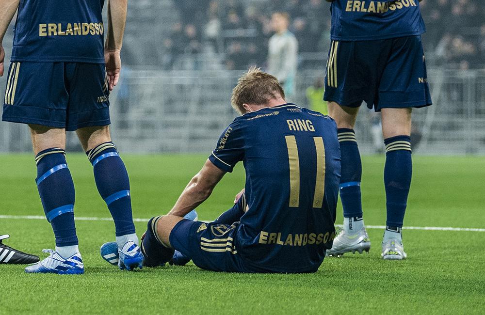 Beskedet efter röntgen – Jonathan Ring inte redo för cupmatch