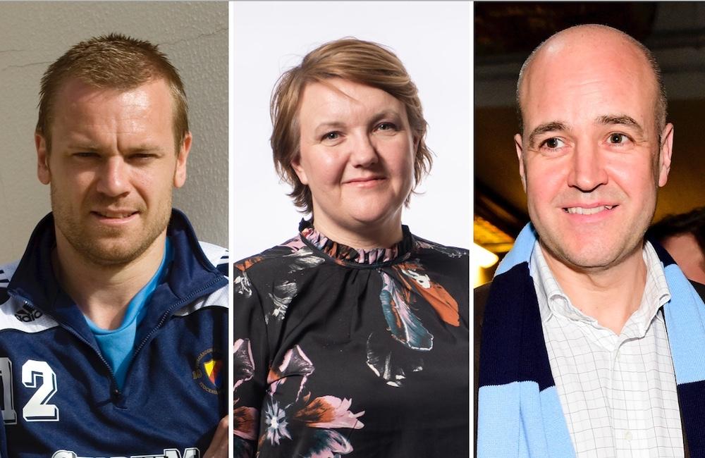 Tunga namn på väg in i DIF – Reinfeldt föreslås till styrelsen
