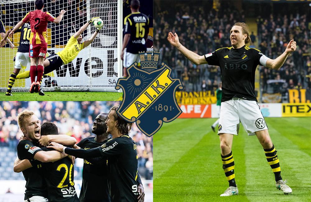 Turina, Borges och Koffe – här är AIK:s drömelva under tiotalet
