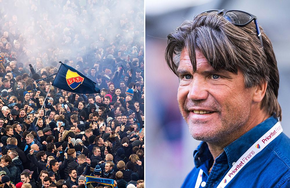 """Bosse Andersson stolt över DIF-fansen: """"Skapar en framtidstro"""""""