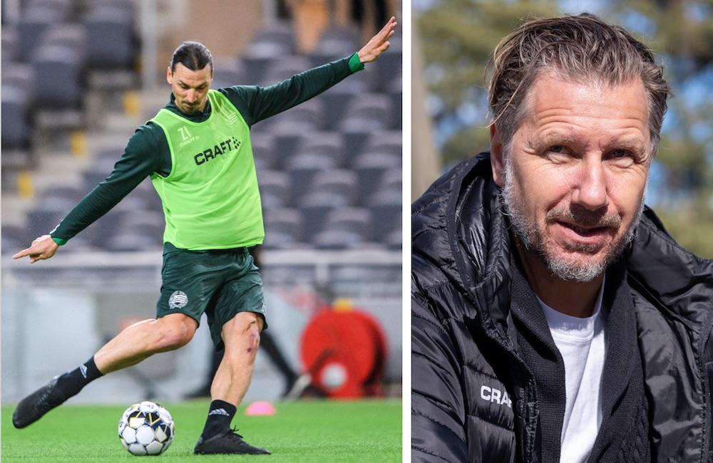 """Jansson bländas av Zlatan: """"Han håller ett jäkla fokus"""""""