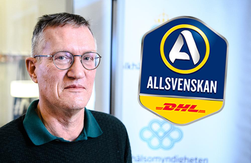 """Anders Tegnell: """"Vi har ingen avsikt att särbehandla fotbollen"""""""
