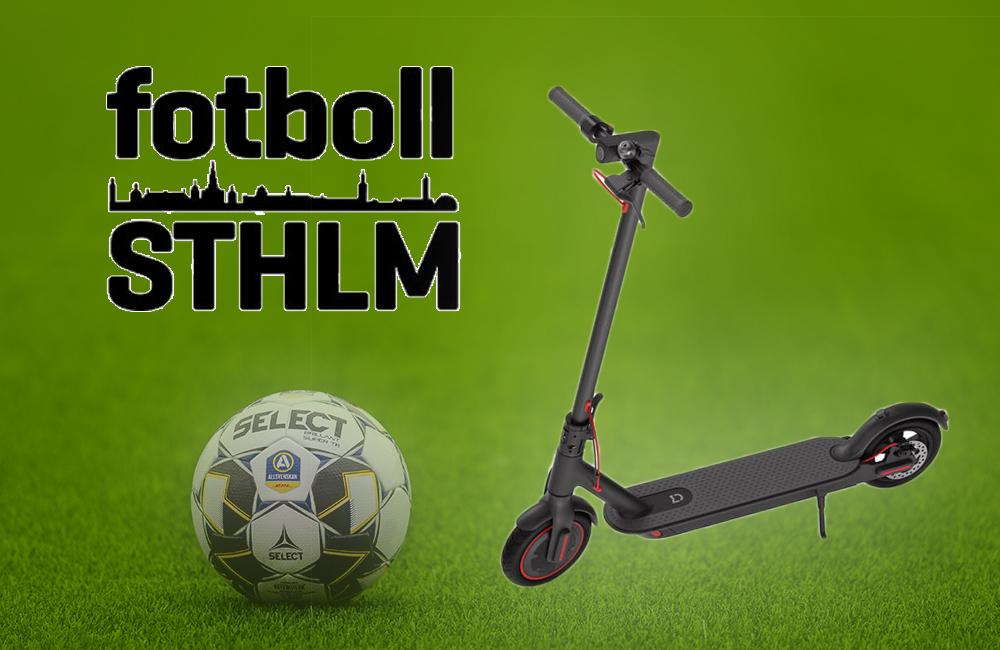 Sista chansen: Prenumerera på Fotboll Sthlm – vinn elscooter!