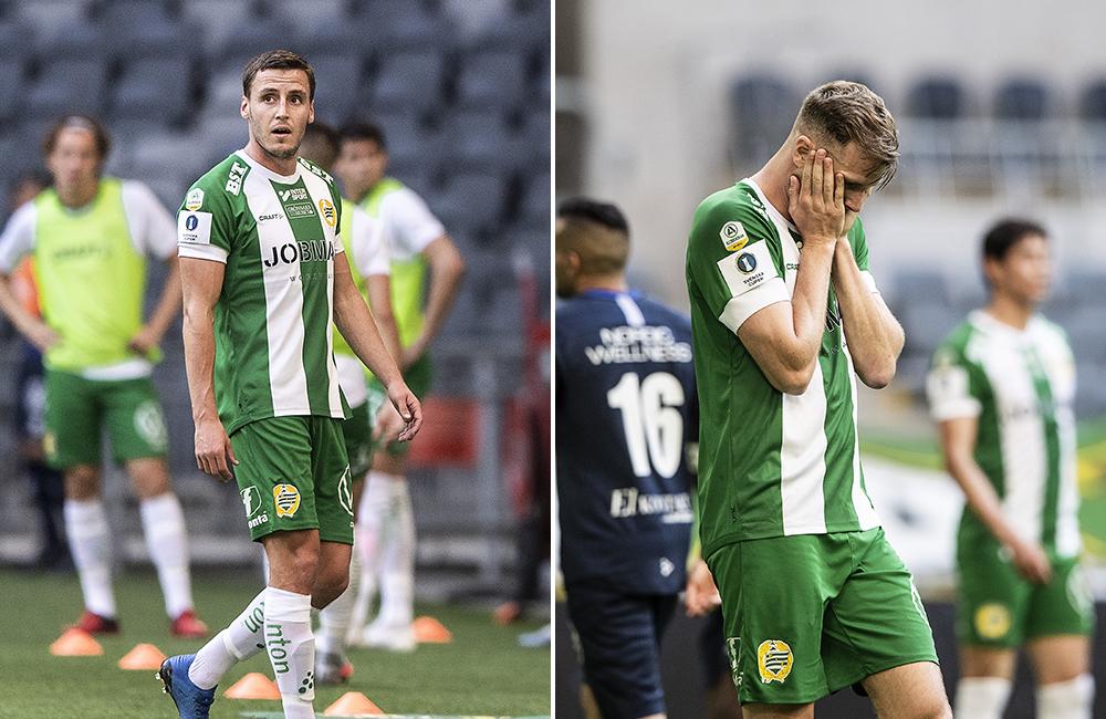 Hammarby föll tungt i cupen – här är spelarbetygen efter förlusten