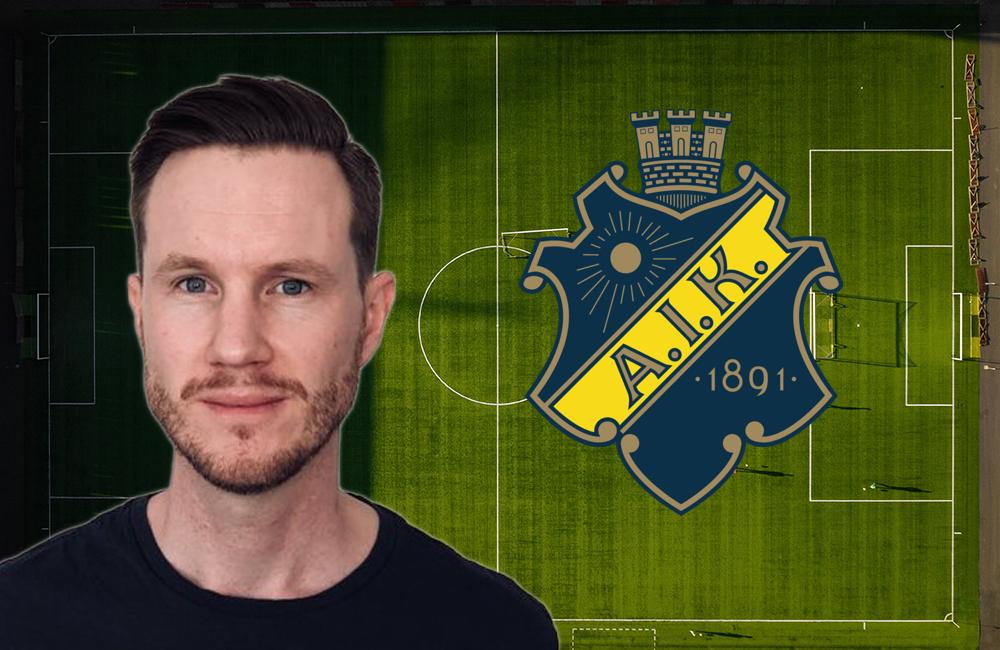 Oskar Månsson: AIK har fattat hur framtidens fotboll ser ut