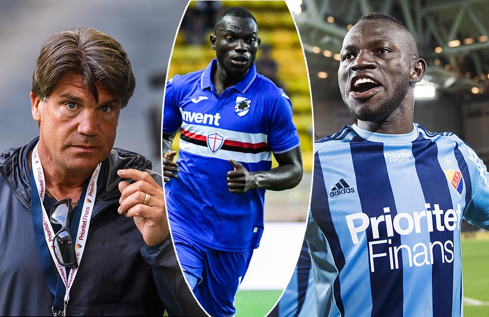 """Förre DIF-spelaren gör succé i Serie A: """"Riktigt imponerad"""""""
