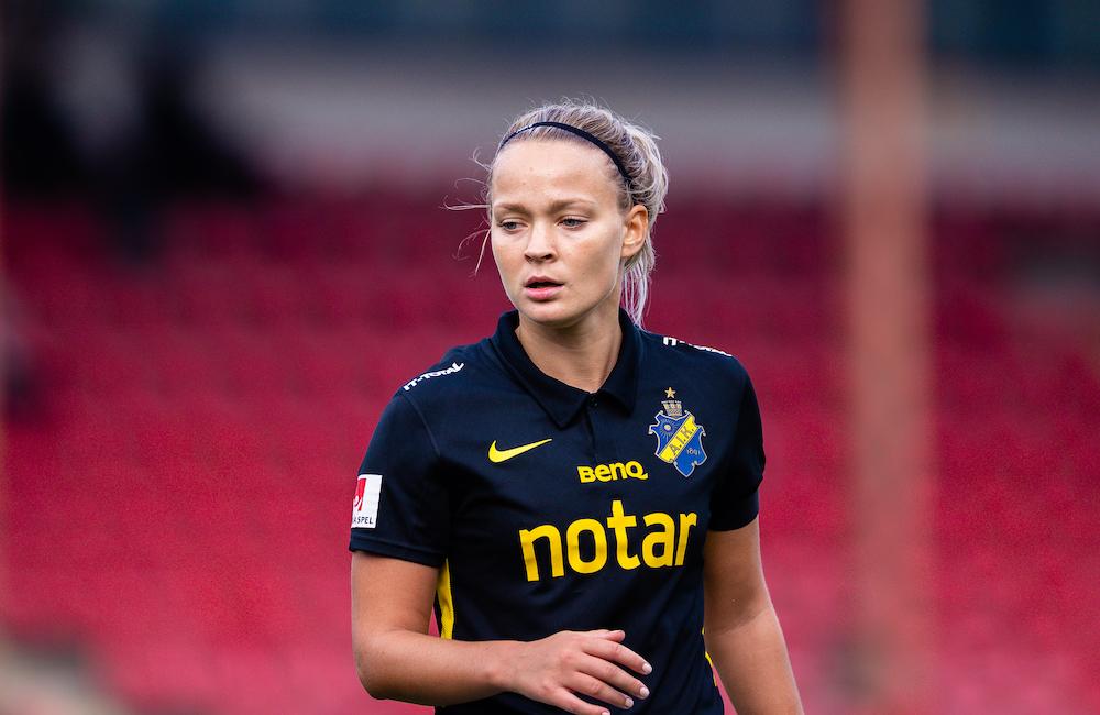 """Evelina Finndell: """"Haft en dröm att gå upp med AIK i fem år"""""""