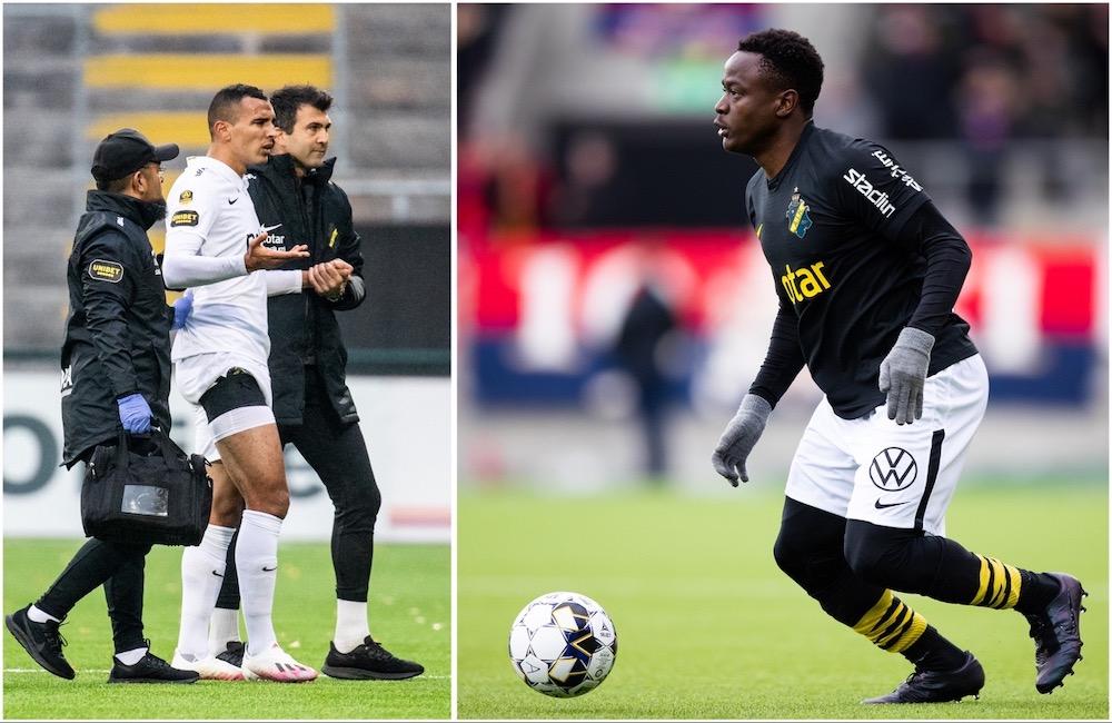 Bahoui missar Blåvitt-matchen – Otieno tillbaka från skada