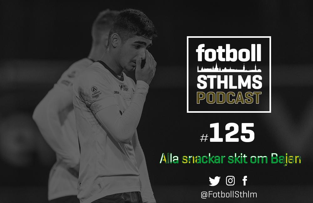 Fotboll Sthlms Hammarby-podd: Alla snackar skit om Bajen