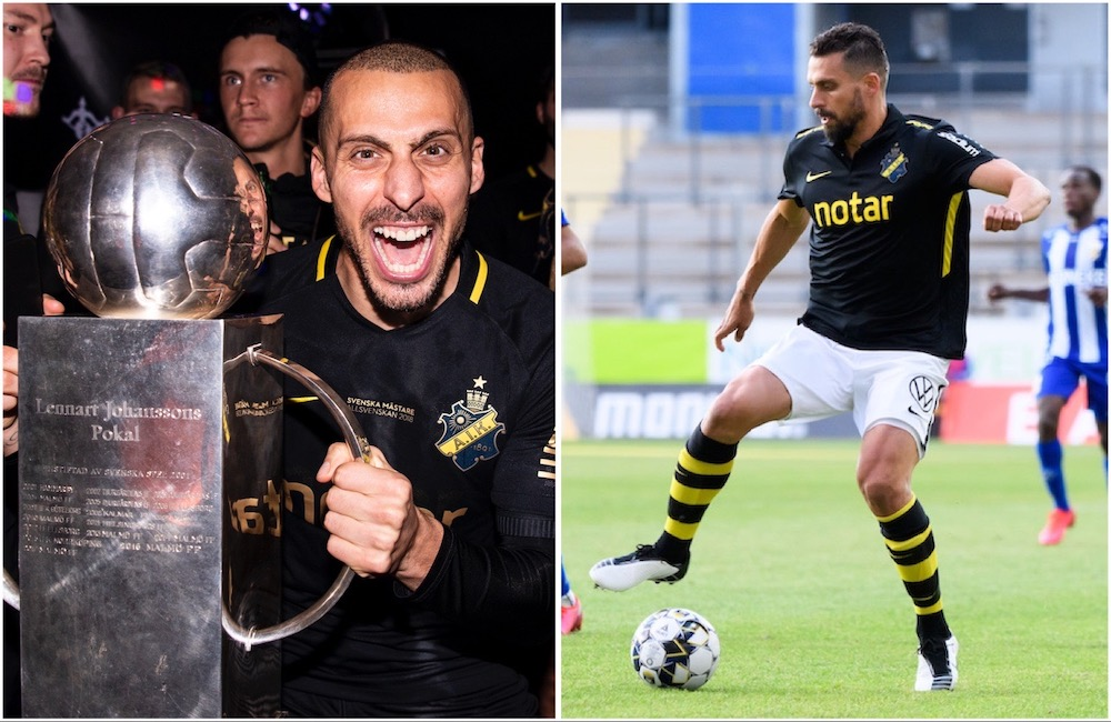 """Dimitriadis om framtiden: """"Inte det sista för mig i AIK"""""""