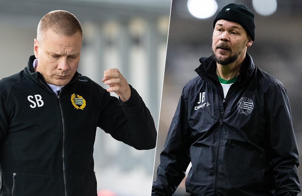 """Stor press på Hammarbys tränarduo: """"Är vinna eller försvinna"""""""