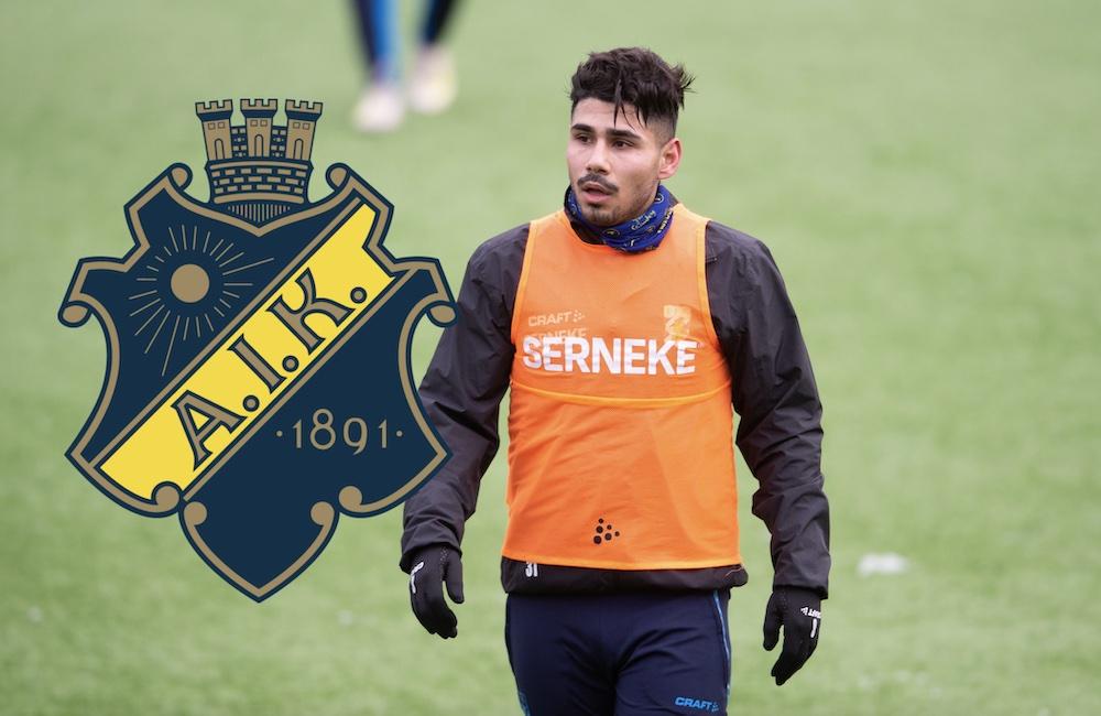 IFK Göteborg redo att sälja Aiesh – AIK uppges vara intresserade