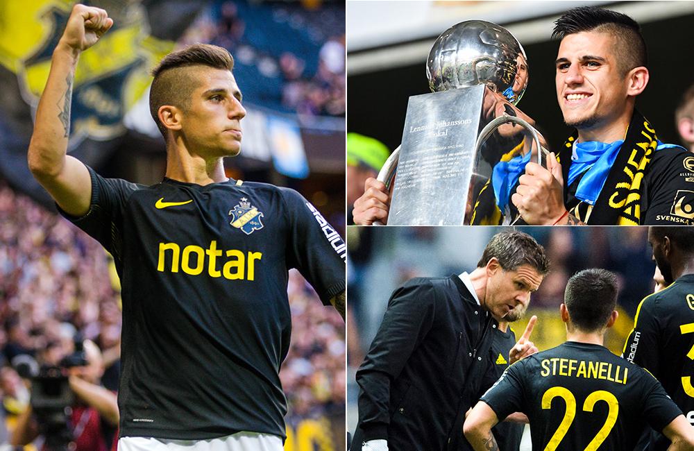 Avgörande klausulen för AIK –  spelet bakom Stefanellis återkomst