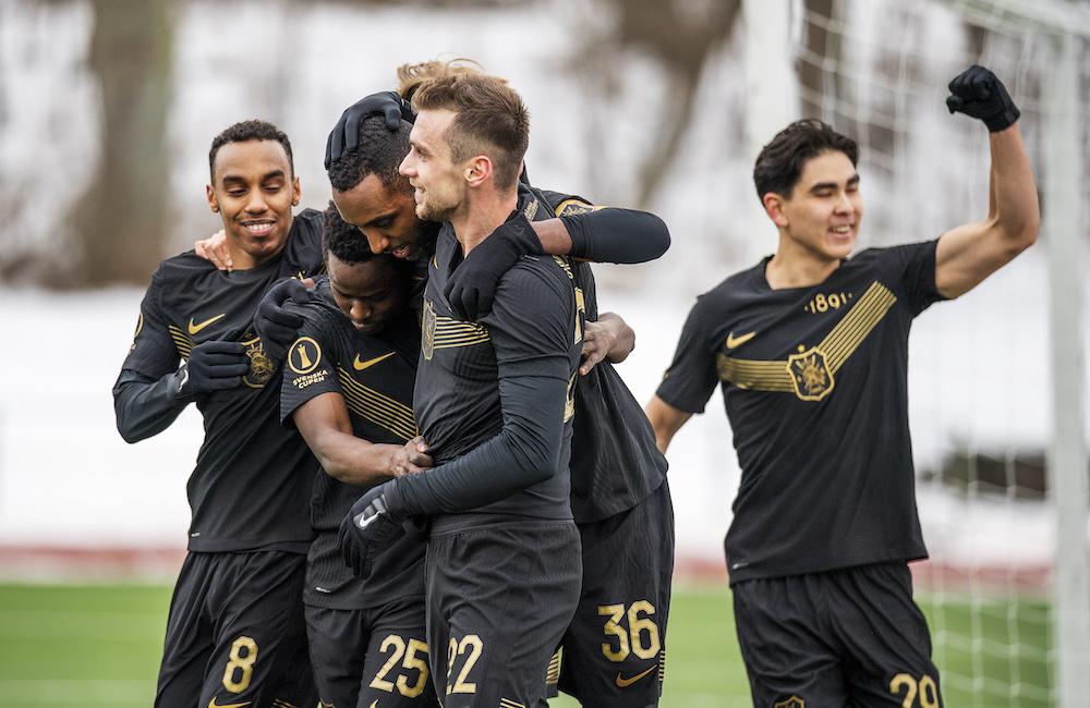 """AIK vann i cupen trots medelmåttig insats: """"Vi måste höja oss"""""""