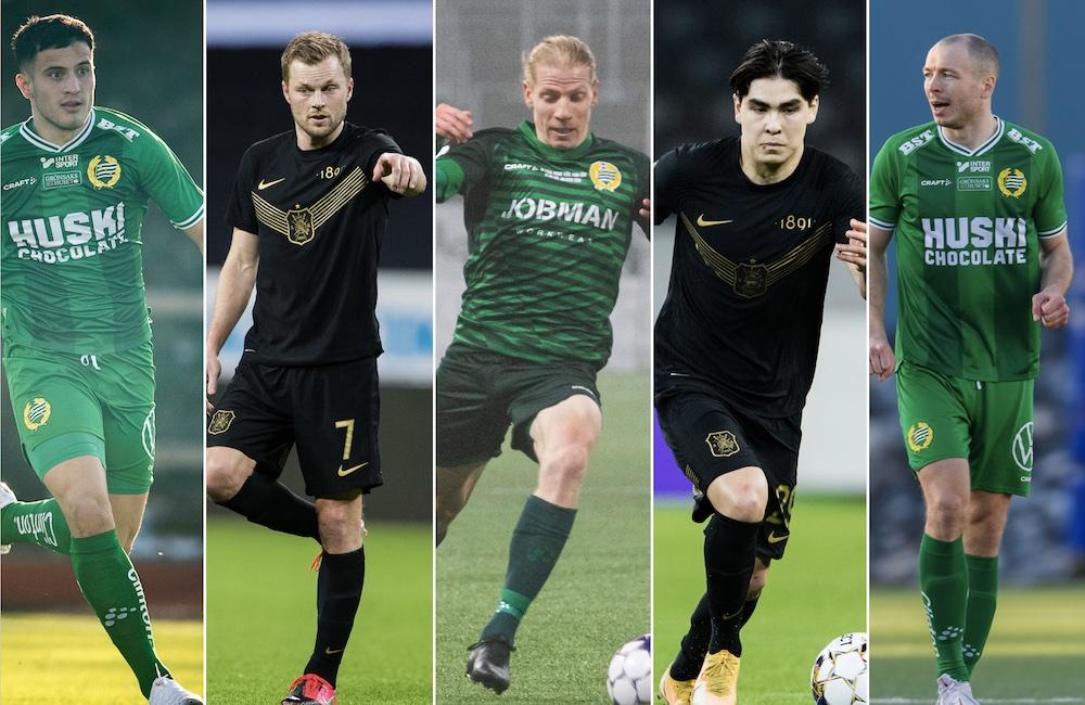 Hammarby vs AIK lagdel för lagdel – så står sig derbyelvorna