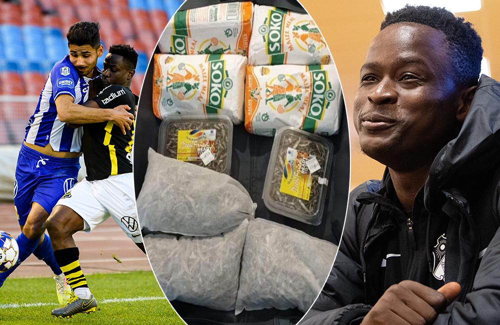 """Mjölet bakom Otienos succé i AIK: """"Man måste äta rätt för att lyckas"""""""