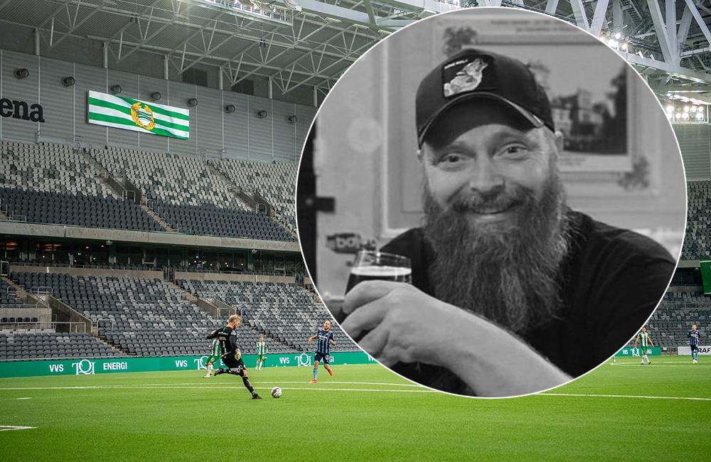 """Johnny 'Ultrish' Holmqvist ska se Bajen på plats: """"Jag skrek rakt ut"""""""