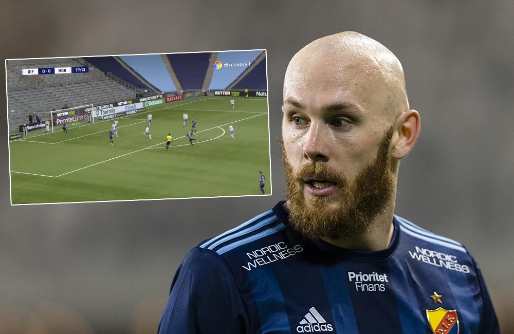 """Eriksson om sin assist till avgörandet: """"Var en djupledsboll"""""""